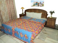 Amita Home Furnishing Single Cotton Duvet Cover Multicolor, 2 Single Bed Dohar Cum Duvet Cover