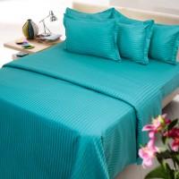 Mark Home King Cotton Duvet Cover Light Blue
