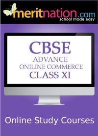 Meritnation CBSE - Advance Online Commerce (Class 11) School Course Material - Voucher