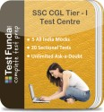 Test Funda SSC CGL Tier - I Test Centre Online Test - Voucher