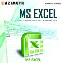 Azimuth Software Tutorial : MS Excel (Basic & Advanced Features Of MS Excel 2007) Online Course - Voucher