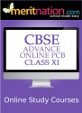 Meritnation CBSE - Advance Online PCB (Class 11) School Course Material - Voucher