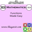 Avdhan CBSE - Mathematics Functions Made Easy (Class 12) School Course Material - Voucher