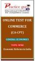 Practice Guru Commerce (CA - CPT) General Economics Topic-wise Economic Reforms in India Online Test - Voucher