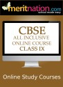 Meritnation CBSE - All Inclusive Online Course (Class 9) School Course Material - Voucher
