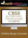 Meritnation CBSE - All Inclusive Online Course (Class 9) School Course Material - Voucher