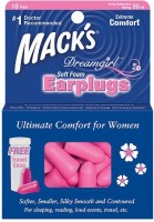 Mack's Dreamgirl Soft Foam Ear Plug (Pink)