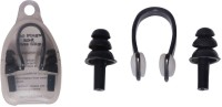 Viva Sports Swimming Combo Ear Plug & Nose Clip (Black)