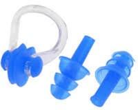 Jern Swim Pro Ear Plug & Nose Clip (Blue)