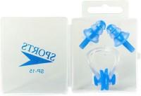 Imported Swim BLU Ear Plug & Nose Clip (Blue)