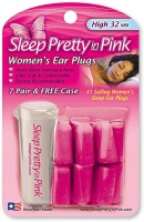 Hearos Sleep Pretty In Pink Ear Plug (Pink)