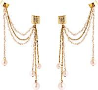 Rejuvenate Jewels Wedding Yellow Gold Metal Cuff Earring