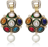 Zaveri Pearls Stylish Alloy Drop Earring