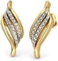 BlueStone The Talas Yellow Gold Stud Earring