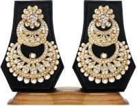 Ethnic Jewels Yellow Gold Zircon Alloy Drop Earring