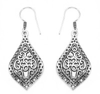 Johareez GLEAM TOUCH 6.8 Grams Oxidised Metal Alloy Alloy Dangle Earring