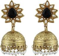 Kshitij Jewels Traditional Alloy Jhumki Earring