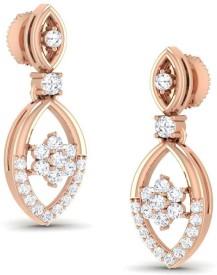 Jisha Valentine's Collection Yellow Gold 18kt Diamond Stud Earring