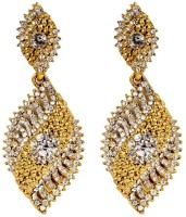 SP Jewellery Rhodium Plated Alloy Drop Earring - ERGEY6NKQNFDN7GH