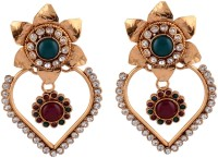 Bhagvathi Pearls  K Brass Drop Earring