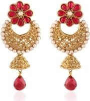 I Jewels Traditional Alloy Jhumki Earring