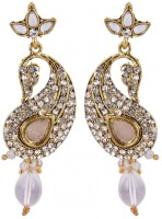 SP Jewellery Rhodium Plated Alloy Drop Earring - ERGEY6NKHDDHPUZT