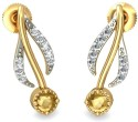 BlueStone The Fiona Yellow Gold Stud Earring