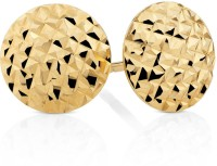 Aiza Aiza Sparkle 18K Yellow Gold Plated 18 K Gold Stud Earring