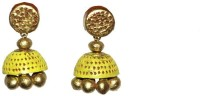 Aanya Creations Handamde Terracotta Jewellery Ceramic Jhumki Earring
