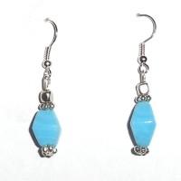 Beadworks Alloy, Glass Dangle Earring - ERGDYE6VGFB2HBVQ