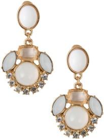 Jewelizer Gemstone Ded Statement Crystal Alloy Drop Earring