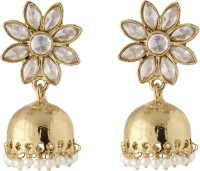 Ladytouch Alloy Drop Earring Alloy Jhumki Earring
