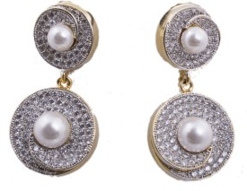 Nuray Jewels Princess Delight Alloy Drop Earring