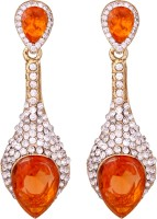 Vendee Fashion Sparkiling Diamond Alloy Dangle Earring