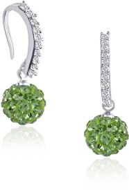 VK Jewels Cubic Zirconia Alloy Dangle Earring