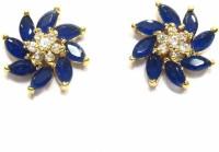 Jewelshingar 18929-gjt-blue Brass Stud Earring
