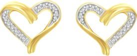 Pooja & Sonam Silda Cubic Zirconia Silver Stud Earring