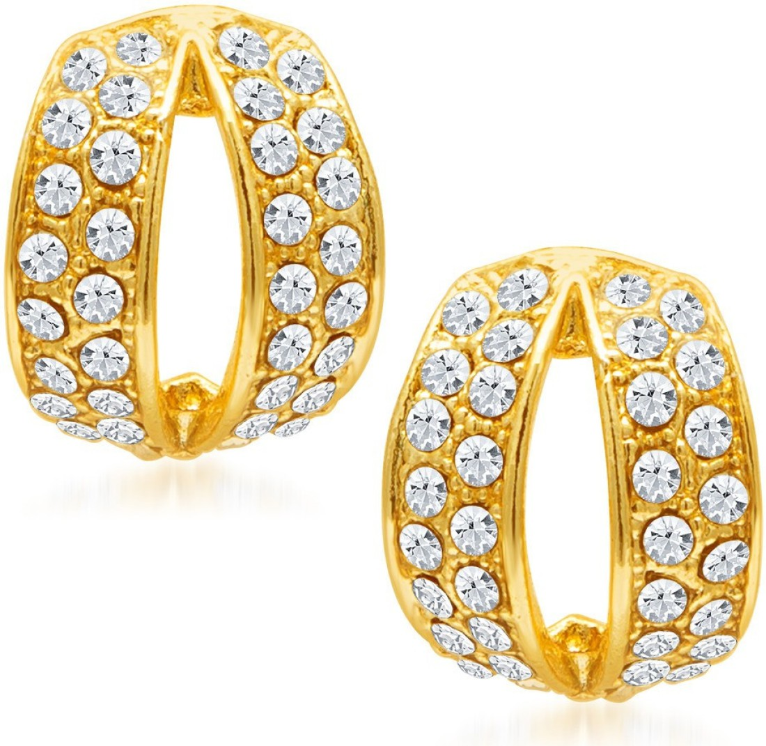 Sukkhi Divine Set of 3 Combo Alloy Earring Set