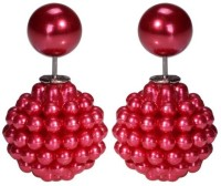 Amour Big Double Sided Alloy Stud Earring