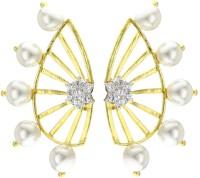 YouBella Pearl Alloy Cuff Earring