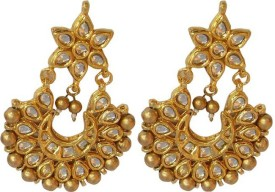 Sreeja scb08 Alloy Chandbali Earring