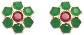 Vinayak pleasant cluster Onyx Alloy Stud Earring