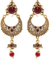 Tsquare Beautiful Dangling ER Alloy Chandbali Earring