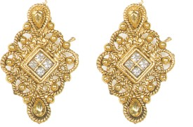 Penny Jewels Beads Alloy Stud Earring
