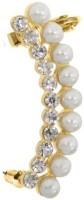 Kalaplanet Fashion Elegant Pearl Alloy Cuff Earring