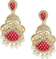 Dg Jewels Royal Dangling Metal, Alloy Chandelier Earring