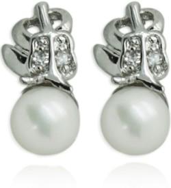 Prisha DSNER132 Pearl Copper Drop Earring