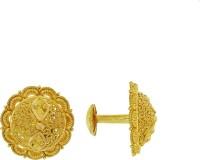 Kalyan Jewellers Calcutta Round 22 K Gold Stud Earring