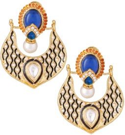 Varaagk Spring Sparkle Brass Drop Earring