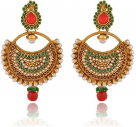Rooh Jewellery Bali Copper Dangle Earring